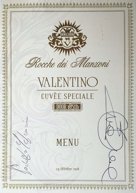 Valentino Brut Cuvee Speciale Door 185th 2